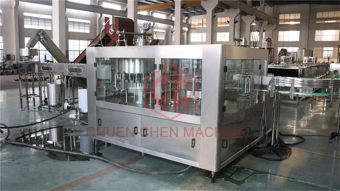Fruit Juice Plastic Bottle Filling Machine Spring Water Bottling Equipment